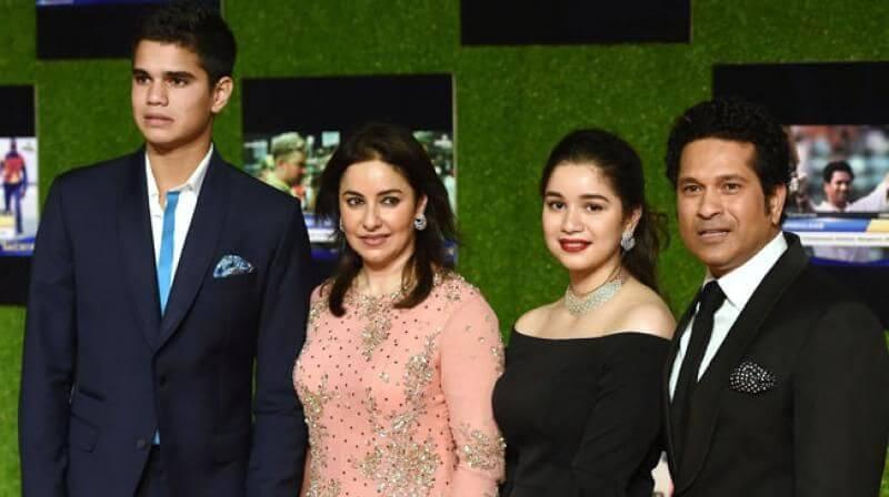 Sachin Tendulkar Full Family