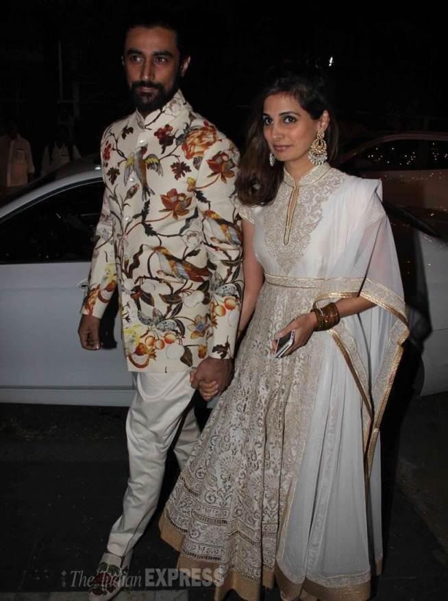Naina Bachchan with Kunal Kapoor