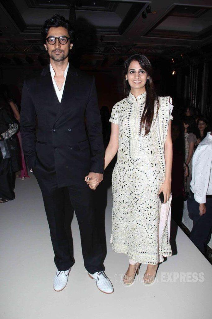 Naina Bachchan with kunal