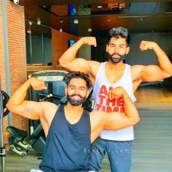 Parmish Verma body building