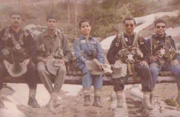 Gunjan Saxena war photos