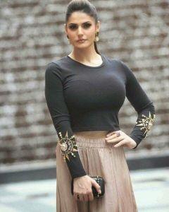 Zareen Khan bold photos