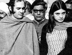 Menaka Gandhi photo with Sanjay