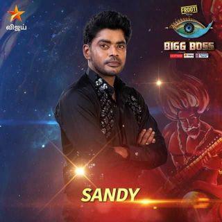 Sandy of Bigg Boss Tamil