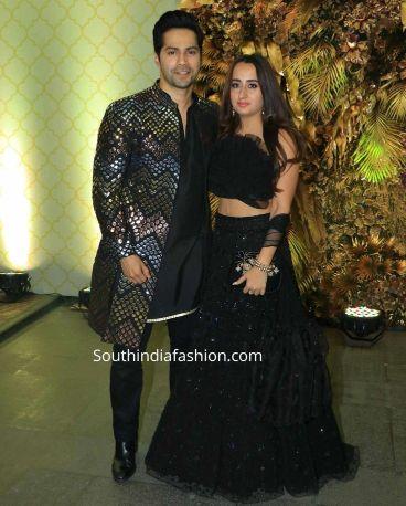 Natasha with Varun Dhawan