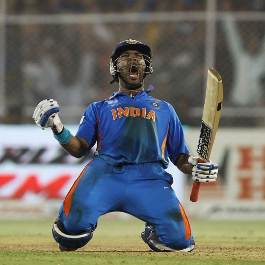 Yuvraj Singh cricket record