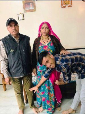 Ravi Bishnoi Family photo