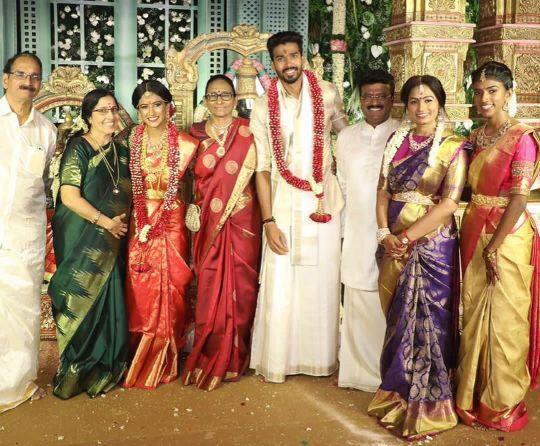 Family of Sandeep Warrier