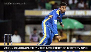 Varun Chakravarthy in IPL