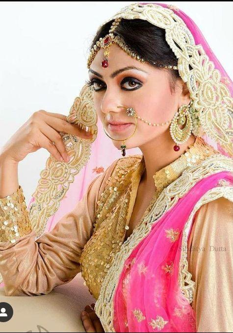 Bridal looks of Arina Dey