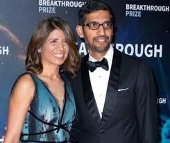Parents of Kiran Pichai