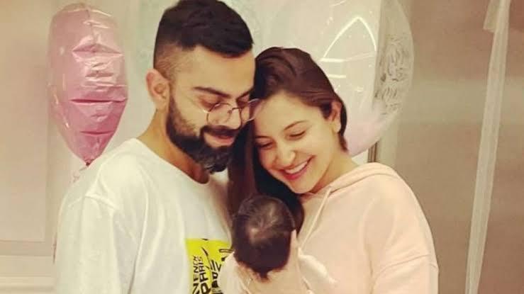 Parents of Vamika Kohli