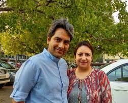 Wife of Sudhir Chaudhari